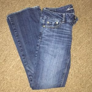 American eagle outfitters flare jeans